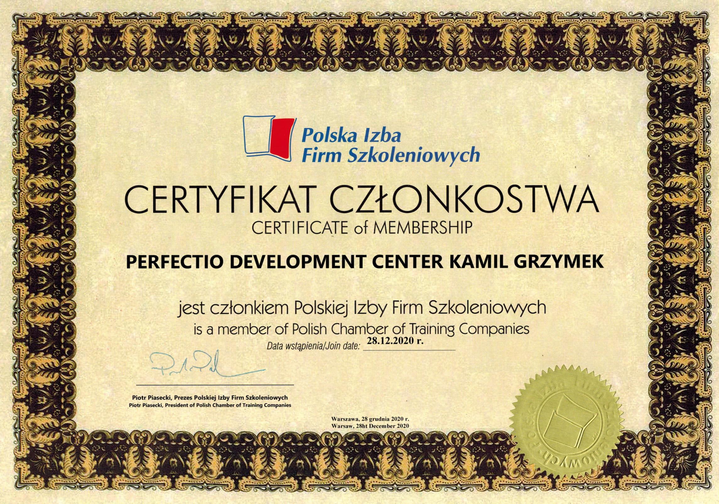 Perfectio Development Center PIFS